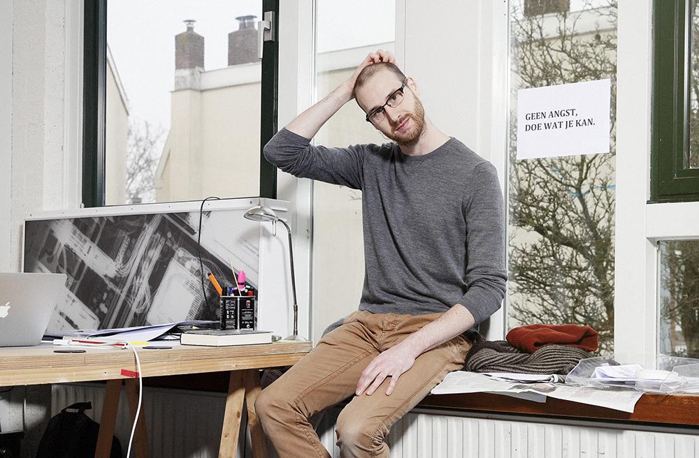 Portrait photo by Erik Borst, 2015